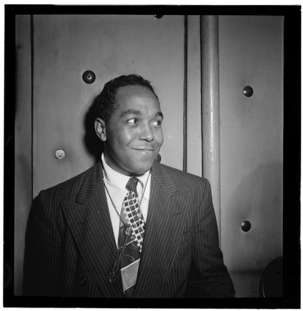 [Portrait of Charlie Parker, Three Deuces, New York, N.Y., ca. Aug. 1947]