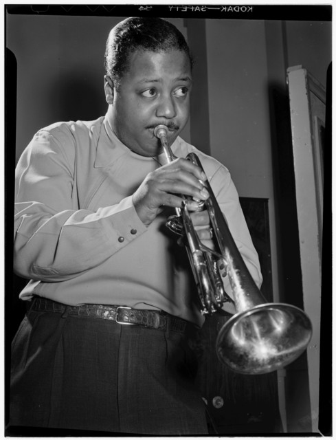 [Portrait of Charlie Shavers, National studio, New York, N.Y., ca. May 1947]