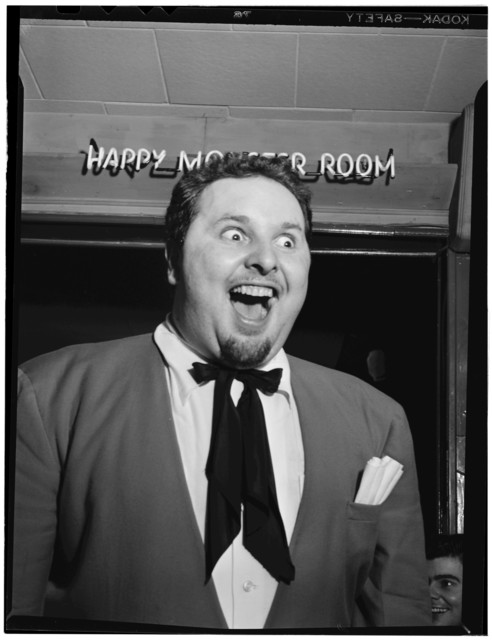 [Portrait of Chubby Jackson, Esquire Club, Valley Stream, Long Island, N.Y., ca. Apr. 1947]