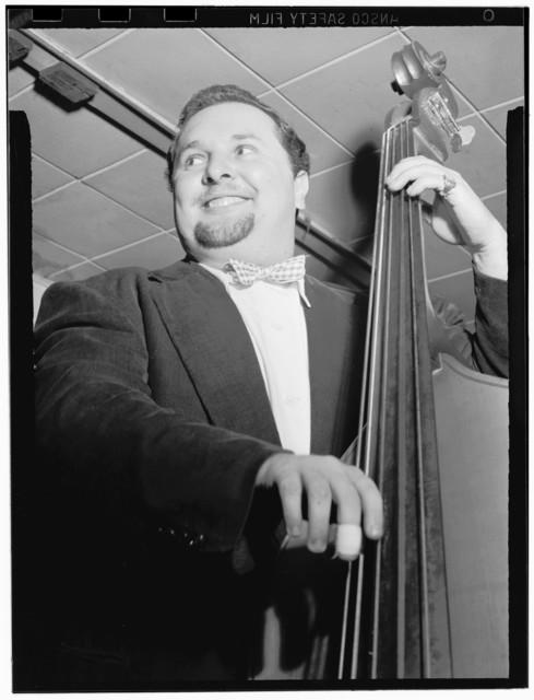 [Portrait of Chubby Jackson, Onyx, New York, N.Y., ca. July 1947]