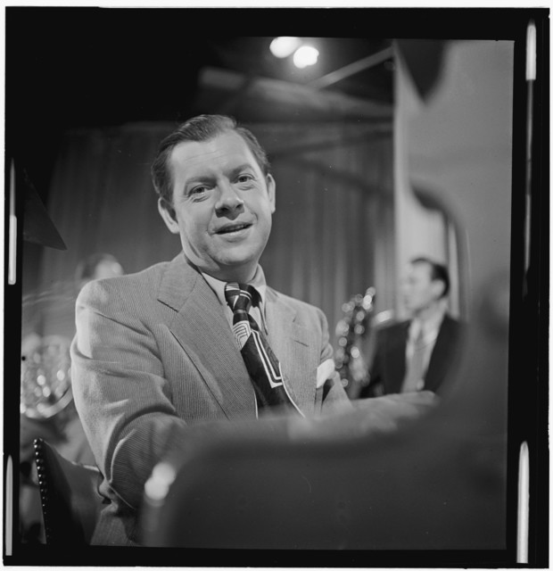 [Portrait of Claude Thornhill, Columbia Pictures studio, the making of Beautiful Doll, New York, N.Y., ca. Sept. 1947]