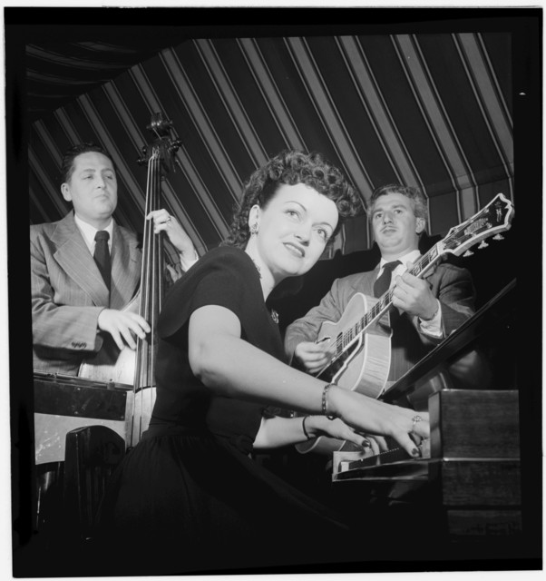 [Portrait of Dardanelle and Joe Sinacore, Hickory House, New York, N.Y., ca. July 1947]