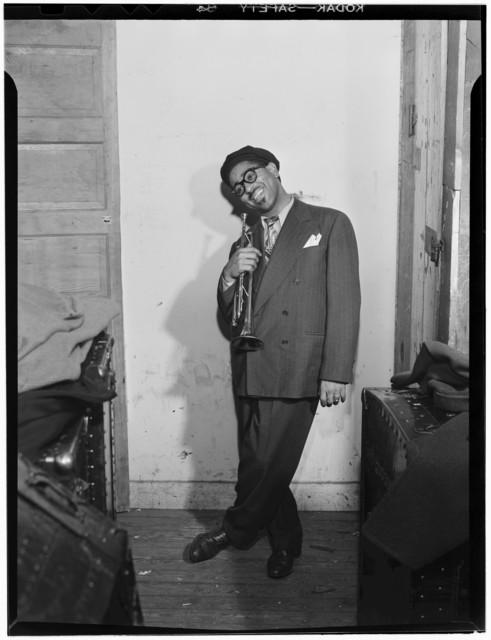[Portrait of Dizzy Gillespie, New York, N.Y., ca. May 1947]