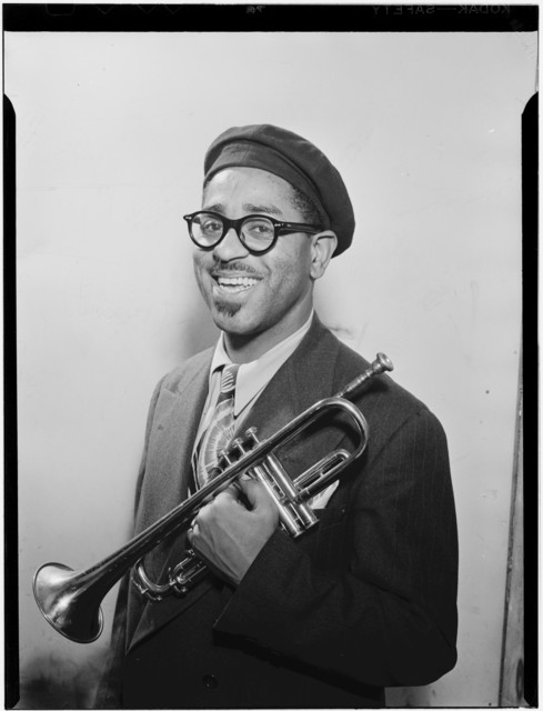 [Portrait of Dizzy Gillespie, New York, N.Y., ca. May 1947]