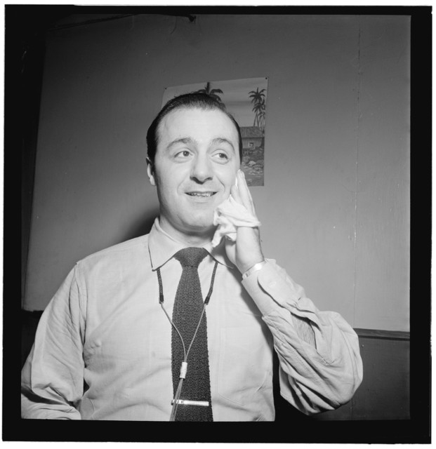 [Portrait of Flip Phillips, Three Deuces(?), New York, N.Y., ca. June 1947]