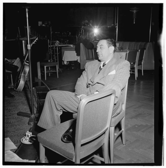 [Portrait of Guy Lombardo, Starlight Roof, Waldorf-Astoria, New York, N.Y., ca. July 1947]