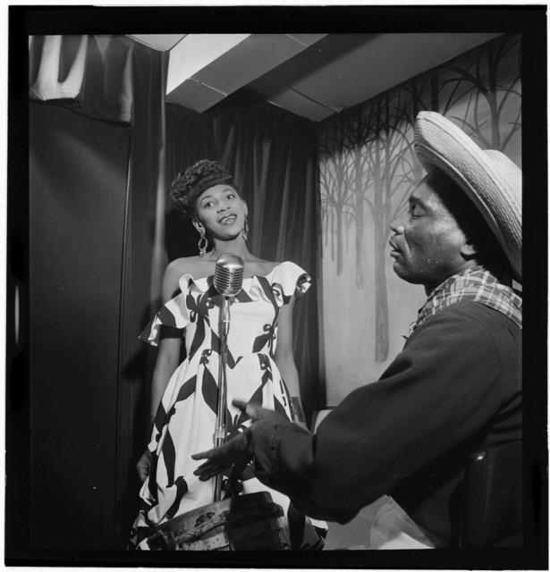 [Portrait of Josephine Premice, Village Vanguard, New York, N.Y., ca. July 1947]