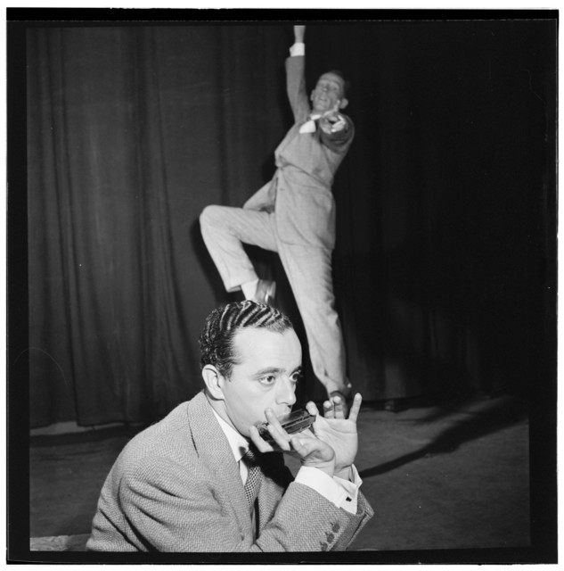 [Portrait of Larry Adler and Paul Draper, City Center, New York, N.Y., ca. Jan. 1947]