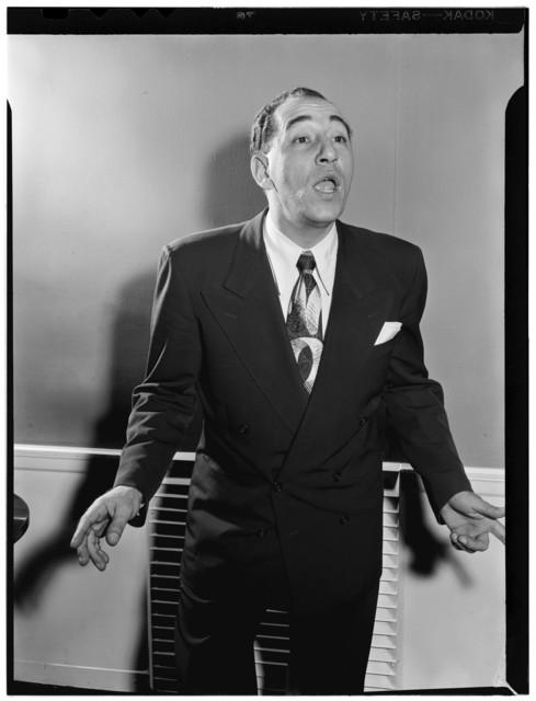 [Portrait of Louis Prima, New York, N.Y., ca. June 1947]
