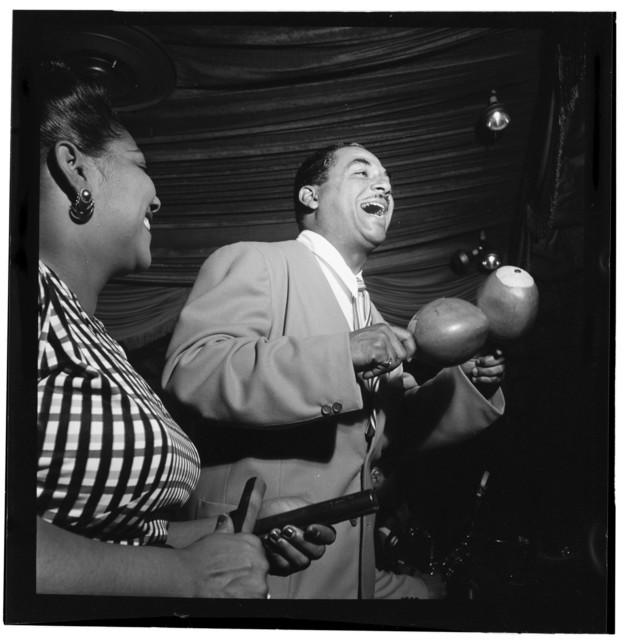 [Portrait of Machito and Graciella Grillo, Glen Island Casino, New York, N.Y., ca. July 1947]