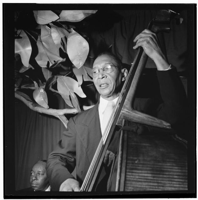 [Portrait of Pops Foster, Ole South, New York, N.Y., ca. Feb. 1947]