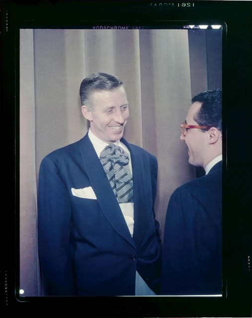 [Portrait of Stan Kenton and Pete Rugolo, 1947 or 1948]
