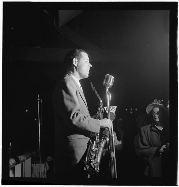 [Portrait of Tex Beneke, New York, N.Y.(?), ca. Jan. 1947]