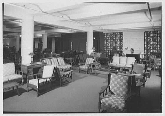Stern Bros., business on W. 42nd St., New York City. Furniture department I