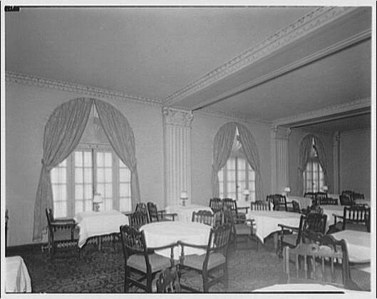 Westchester Apartments. Dining room of Westchester Apartments III