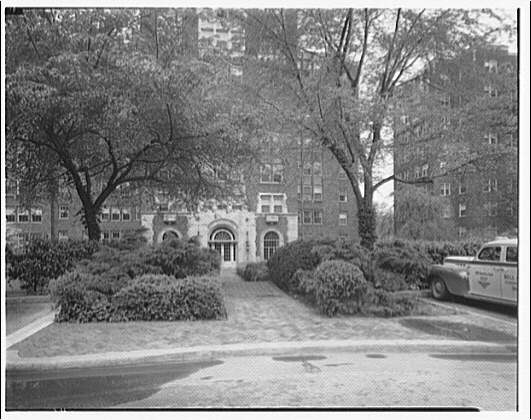 Westchester Apartments. Grounds of Westchester Apartments before new landscaping VII