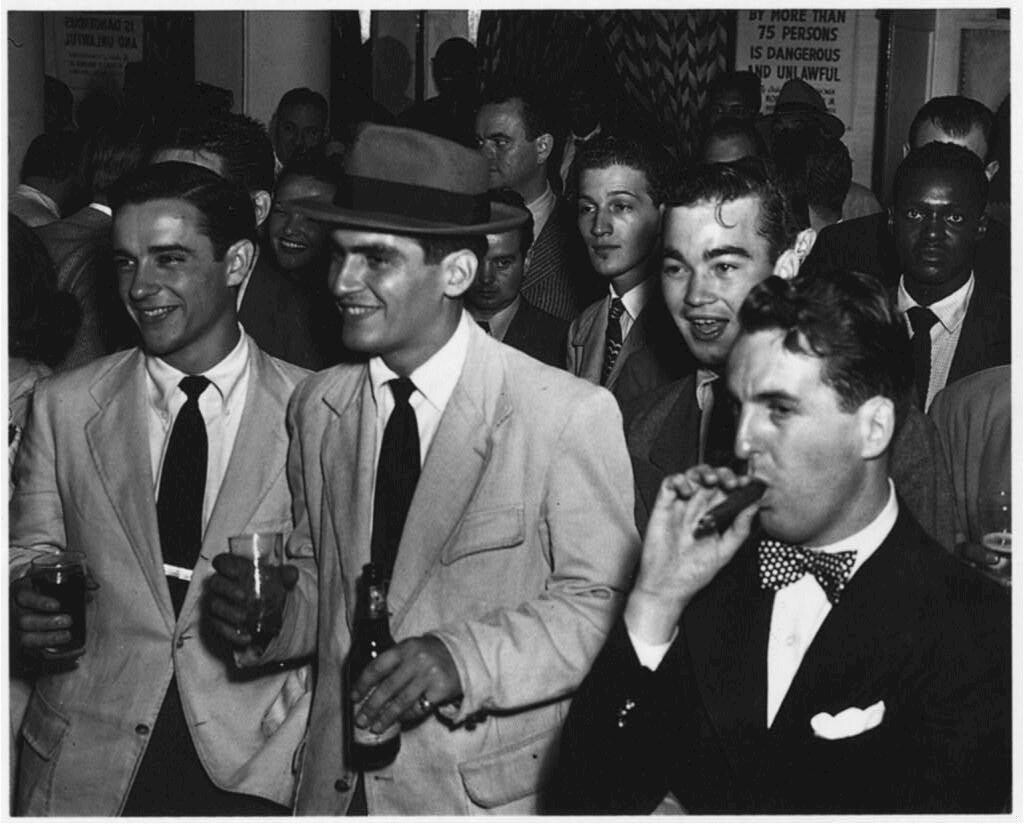 [Downbeat, New York, N.Y., ca. 1948]