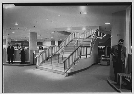 Lord & Taylor, business in Westchester. Staircase