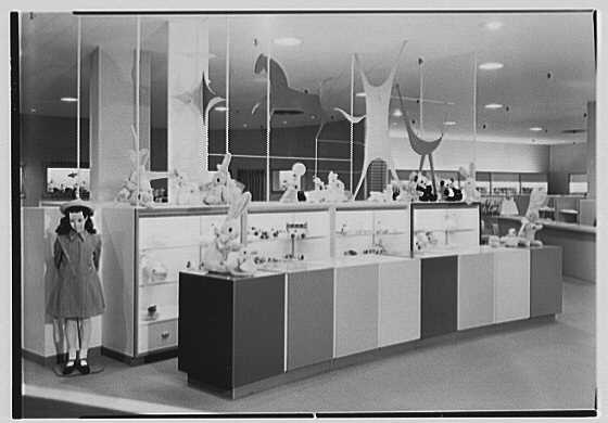Lord & Taylor, business in Westchester. Toy department II