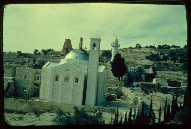 Mount of Olives, Bethphage and Bethany. Bethany, Church of Lazarus