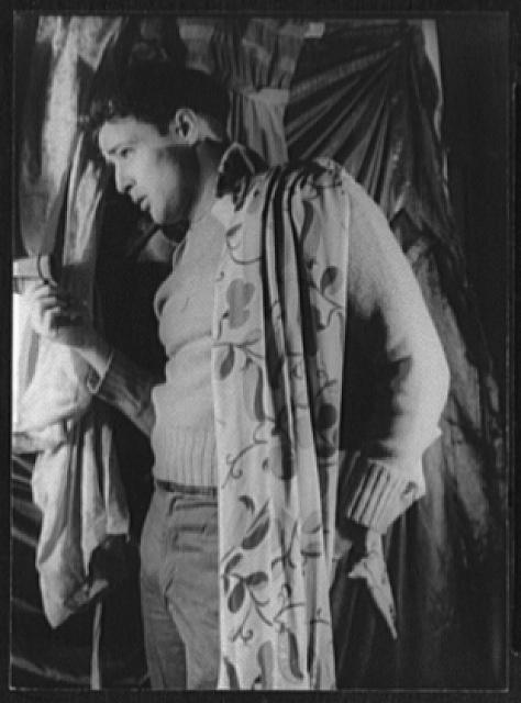 "[Portrait of Marlon Brando, ""Streetcar Named Desire""]"