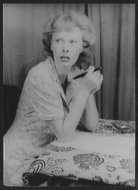 [Portrait of Meg Mundy, in The Respectful Prostitute]