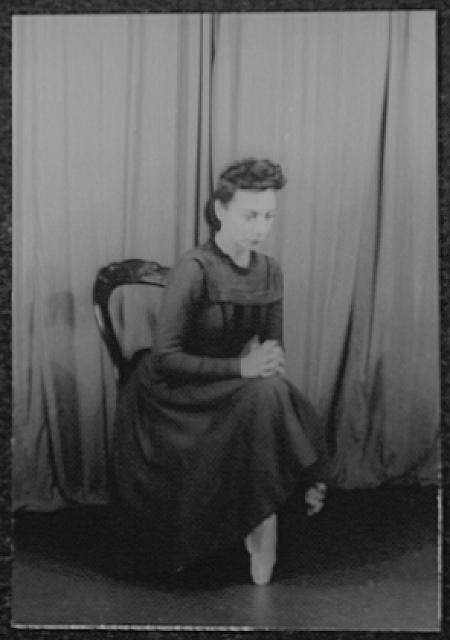 [Portrait of Nora Kaye, in Fall River Legend]