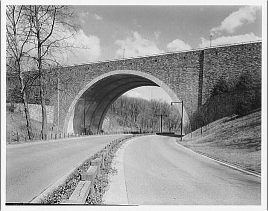 Bridges. Massachusetts Ave. bridge over Rock Creek Parkway