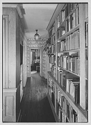 Kirk Wilkinson, residence on Baptist Church Rd., Yorktown Heights, New York. Hall
