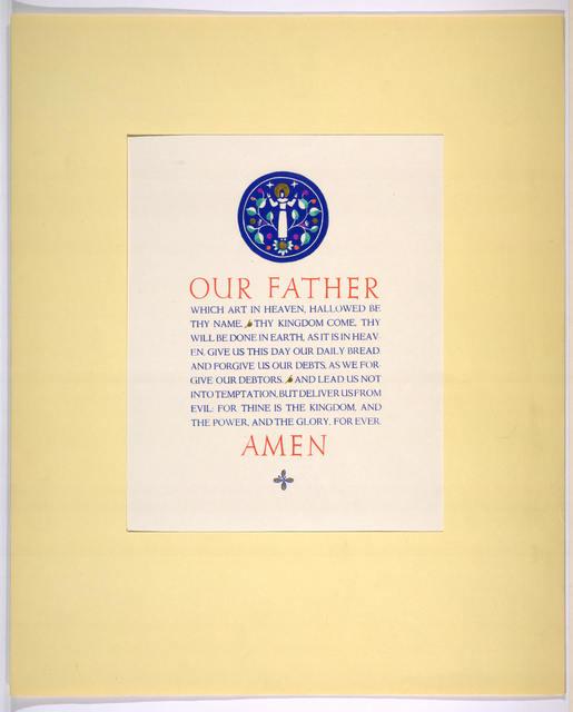 [Lords prayer.]