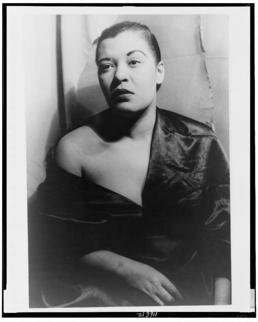 [Portrait of Billie Holiday]