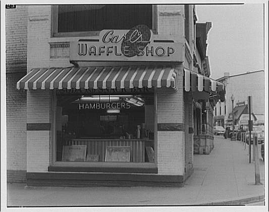 Potomac Electric Power Co. commercial kitchens, restaurants and lighting. Carl's Waffle Shop at Wisconsin and Prospect II