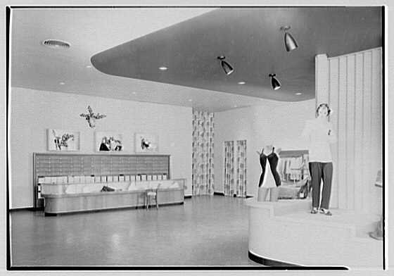 Vassar Dress Shop, business on West St., Norwalk, Connecticut. Interior IV