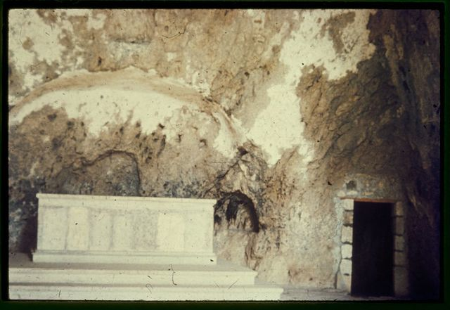 Along the Mediterranean coast, southward. Antioch, St. Peter's shrine in cave. Gal. 2:11