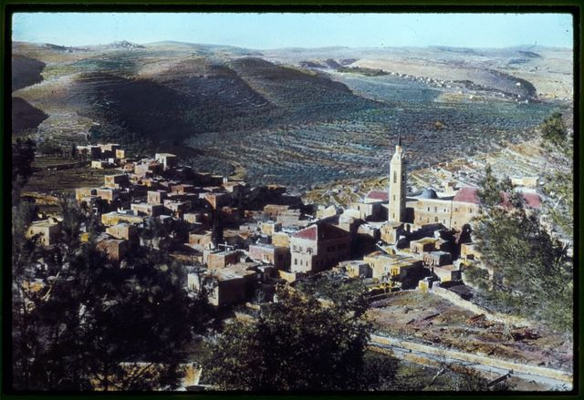 Area near Jerusalem. Ain Karim. Traditional birthplace of John the Baptist