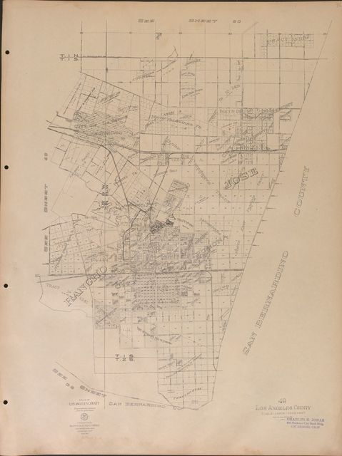 Atlas of Los Angeles County : photographically reproduced from the official records.