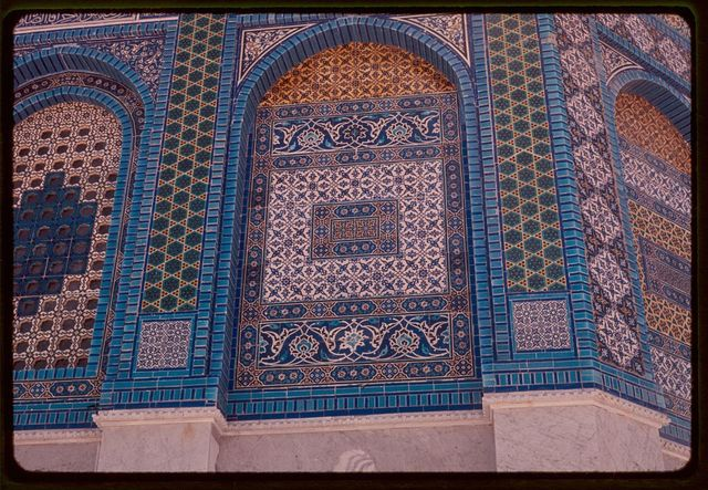 Close up of Dome of the Rock