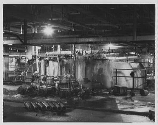 Dominion Alkali & Chemical Co., Ltd., Beaunhois [i.e. Beauharnois], Canada. Leaking tanks