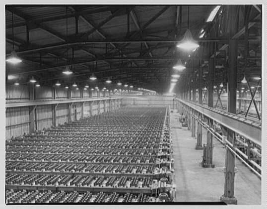 Dominion Alkali & Chemical Co., Ltd., Beaunhois [i.e. Beauharnois], Canada. Manufacturing department, from above