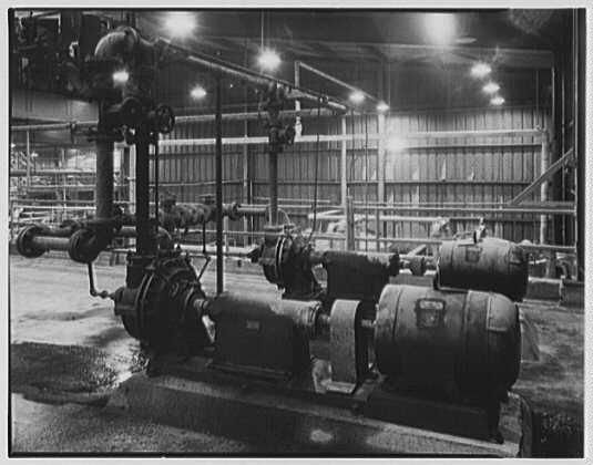 Dominion Alkali & Chemical Co., Ltd., Beaunhois [i.e. Beauharnois], Canada. Pumps