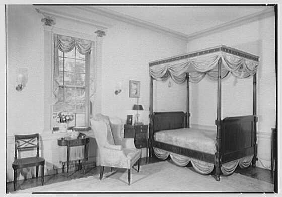 Henry Francis Du Pont Winterthur Museum, Winterthur, Delaware. Nemours bedroom