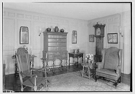 Henry Francis Du Pont Winterthur Museum, Winterthur, Delaware. Tappahannock room