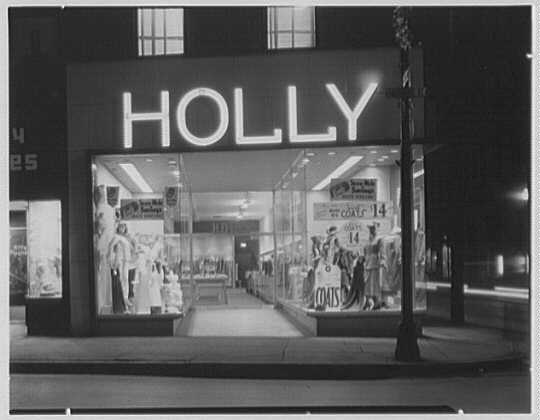 Holly Shop, business in Cumberland, Maryland. Exterior