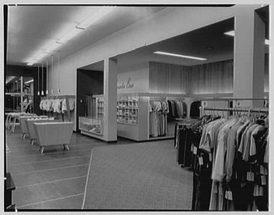 Holly Shop, business in Cumberland, Maryland. Interior, to entrance