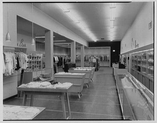Holly Shop, business in Cumberland, Maryland. Interior, toward rear