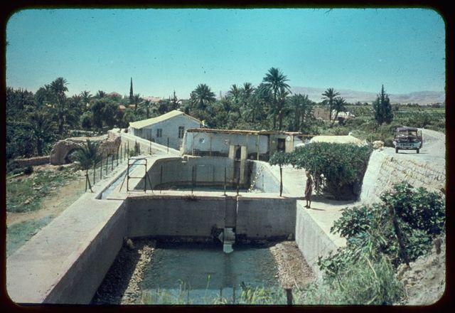Jericho and Dead Sea area and River Jordan. Elisha's Fountain. II Kings 2:19-22
