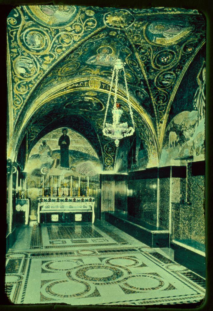 Jerusalem. 11th Station of the Cross
