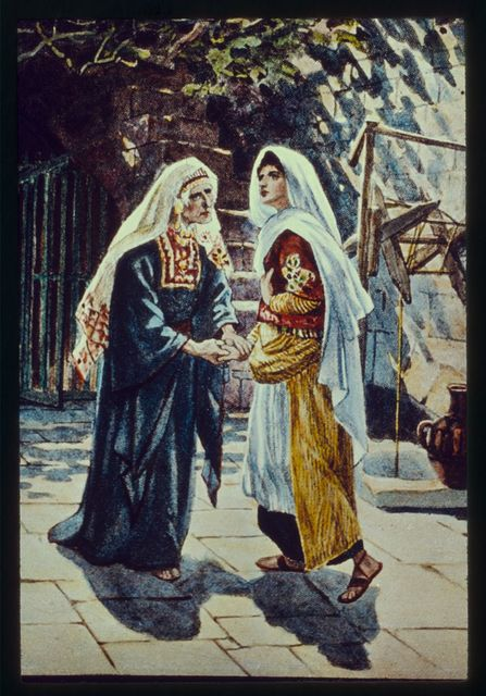 Luke 1:39-56. Mary goeth into the hill country of Judea and saluteth Elizabeth