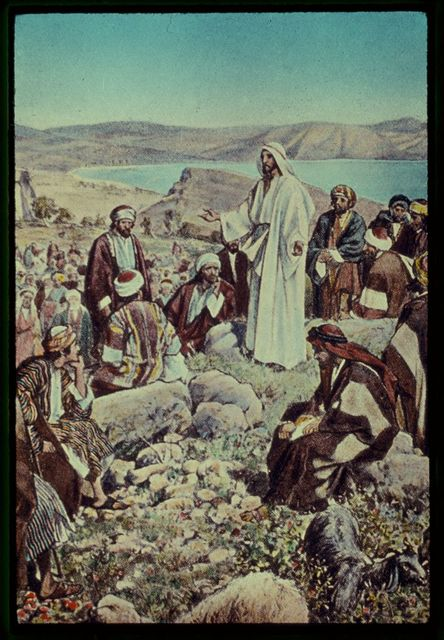 Luke 6:12-23. Jesus goeth up into a mountain apart, wither He is followed by the multitude and His disciples. From these He selecteth twelve to be His disciples