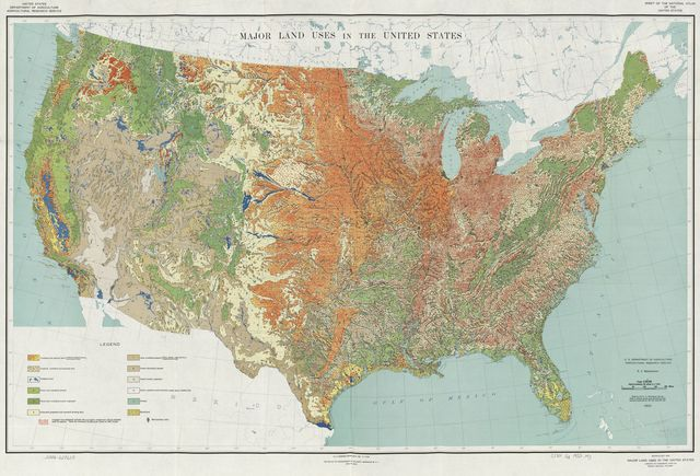 Major land uses in the United States /
